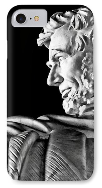 Lincoln Profile Phone Case by Christopher Holmes