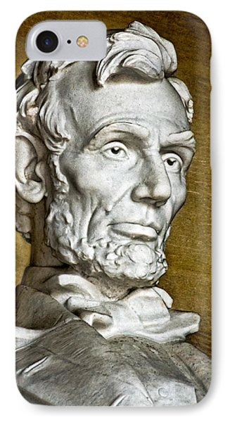 Lincoln Profle 2 Phone Case by Christopher Holmes