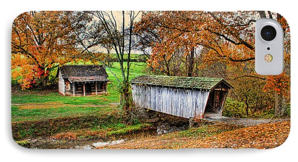 Lincoln's Homestead IPhone Case by Darren Fisher