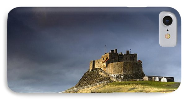 Lindisfarne Castle On A Volcanic Mound Phone Case by John Short