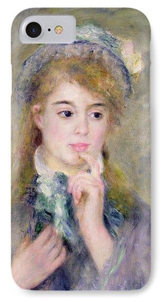 L'ingenue IPhone Case by Pierre Auguste Renoir