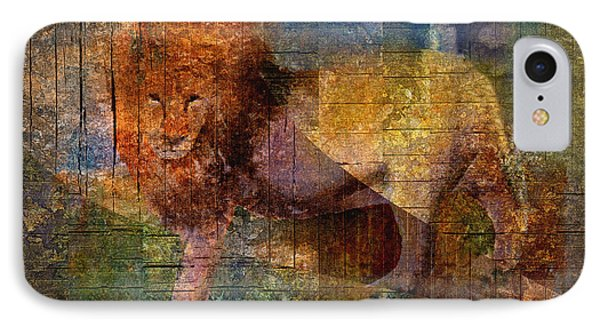 Lion Phone Case by Arline Wagner