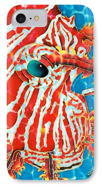 Lion Fish Face Phone Case by Daniel Jean-Baptiste