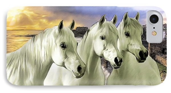 Lipizzans Phone Case by Tom Schmidt