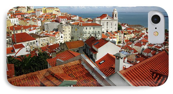 Lisbon Rooftops Phone Case by Carlos Caetano