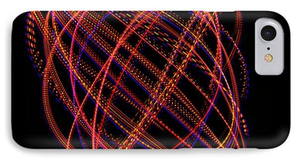 Lissajous Figure Phone Case by Ted Kinsman