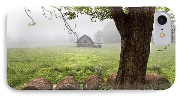 Little Barn IPhone Case by Debra and Dave Vanderlaan