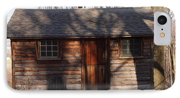Little Cabin In The Woods Phone Case by Robert Margetts