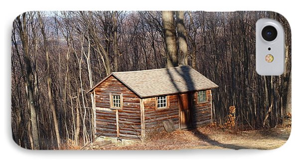 Little House In The Woods Phone Case by Robert Margetts