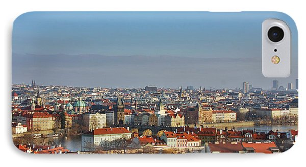 Little Mother Prague Phone Case by Christine Till