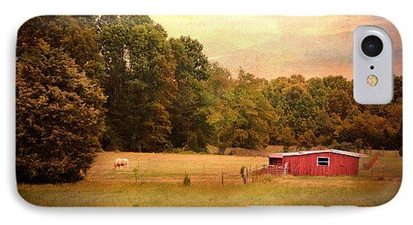 Little Red Barn Phone Case by Jai Johnson