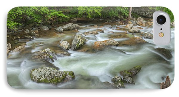 Little River Rapids Phone Case by Dean Pennala