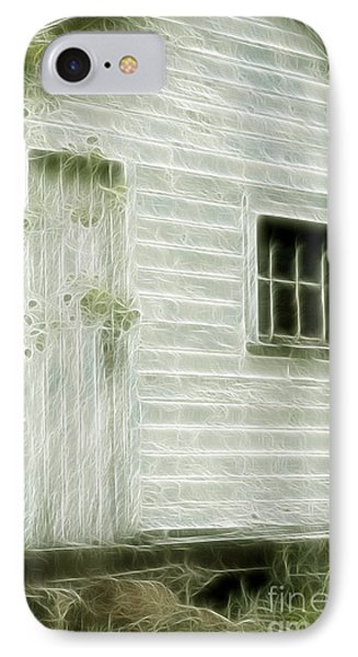 Little White Building Onaping Phone Case by Marjorie Imbeau