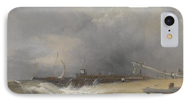 Littlehampton Pier On The Sussex Coast IPhone Case by James Baker Pyne