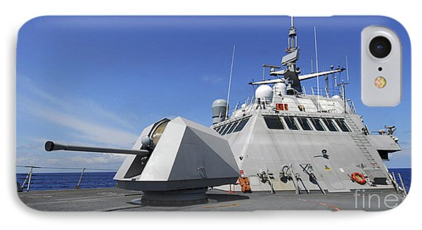Littoral Combat Ship Uss Freedom Phone Case by Stocktrek Images