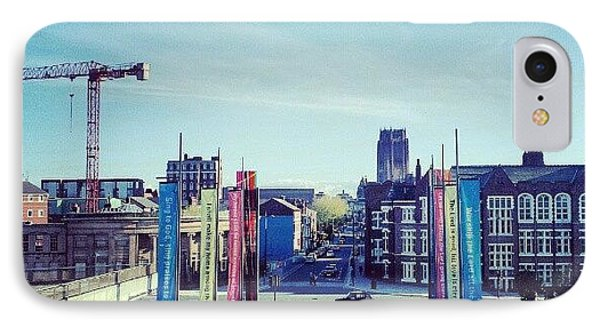 #liverpool #liverpoolcathedrals IPhone Case by Abdelrahman Alawwad