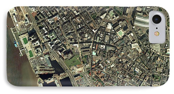 Liverpool, Uk, Aerial Image Phone Case by Getmapping Plc