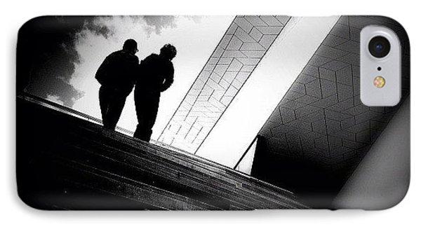 Living Between The Lines - Concrete IPhone Case by Robbert Ter Weijden