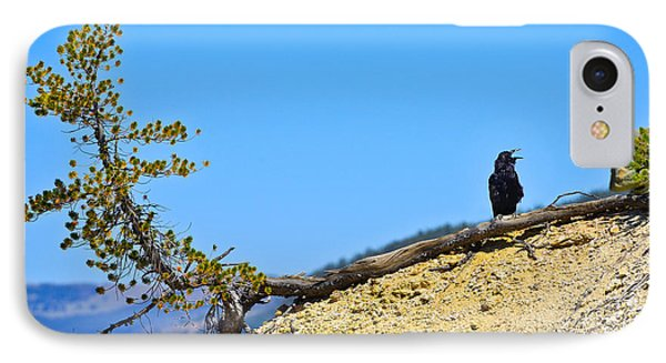 Living On The Edge Phone Case by Greg Norrell