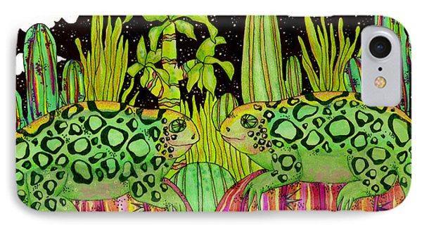 Lizards In Love Phone Case by Dede Shamel Davalos