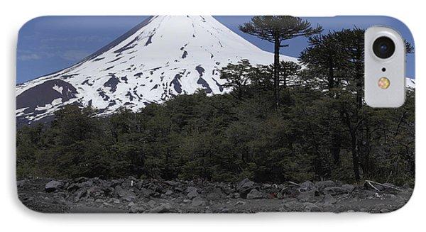 Llaima Volcano, Araucania Region, Chile Phone Case by Martin Rietze