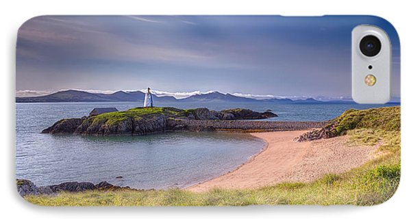 Llanddwyn Beacon Phone Case by Adrian Evans