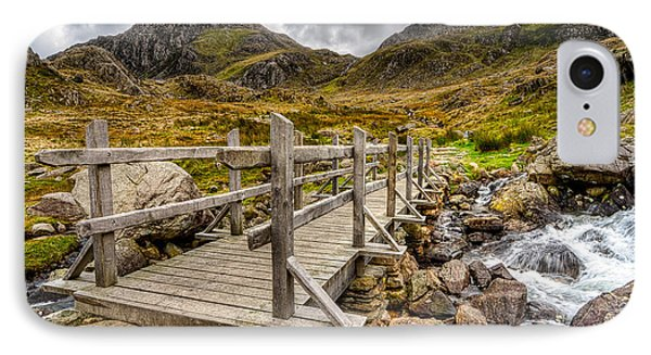 Llyn Idwal Bridge Phone Case by Adrian Evans