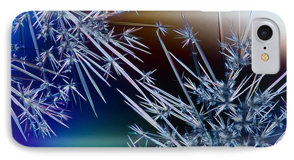 Lm Of Crystals Of Antibiotic Streptomycin IPhone Case by David Parker