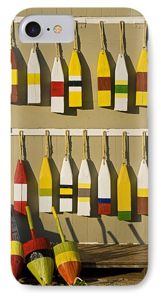 Lobster Buoys For Sale, North Rustico IPhone Case by John Sylvester