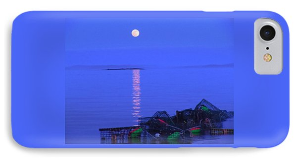 IPhone Case featuring the photograph Lobstering Moon by Francine Frank