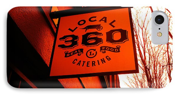 Local 360 In Orange Phone Case by Kym Backland