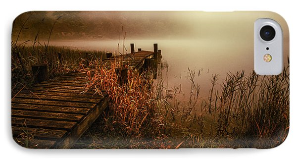 Loch Ard Early Morning Mist IPhone Case