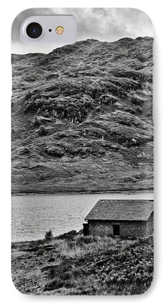 Loch Arklet Boathouse Phone Case by Chris Thaxter