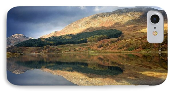 Loch Lobhair, Scotland IPhone Case by John Short