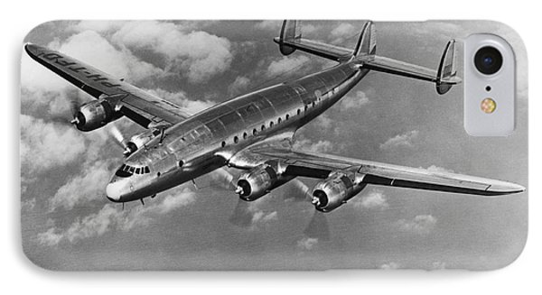 Lockheed Constellation Phone Case by Photo Researchers