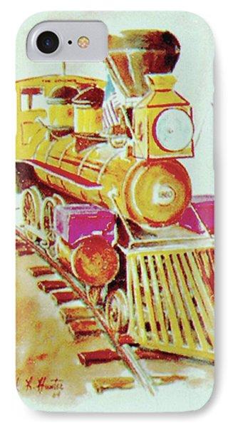 Locomotive IPhone Case by Frank Hunter