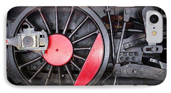 Locomotive Wheel IPhone Case
