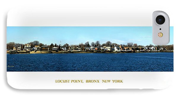 Locust Point Bronx New York IPhone Case by Dale   Ford