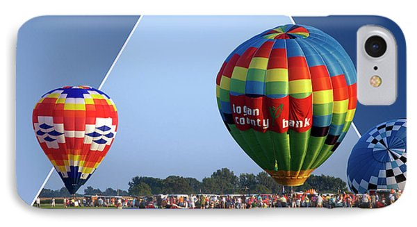 Logan County Bank Balloon 05 Phone Case by Thomas Woolworth