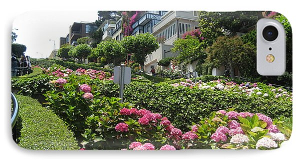 Lombard Street IPhone Case by Dany Lison