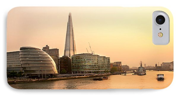 London At Dusk Phone Case by Svetlana Sewell