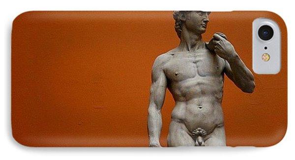 London iPhone 7 Case - #london #david #michelangelo #sculpture by Ozan Goren