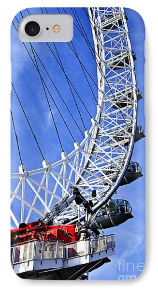 London Eye IPhone 7 Case by Elena Elisseeva