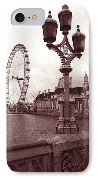 London Eye Phone Case by Kathy Yates