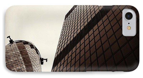 London iPhone 7 Case - #london #gherkin#building #architecture by Ozan Goren