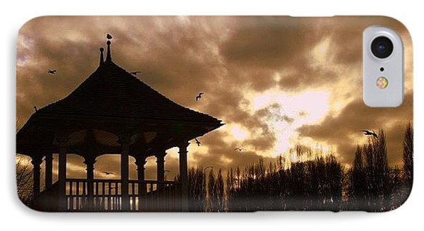 #london #kingston #thamespath IPhone Case