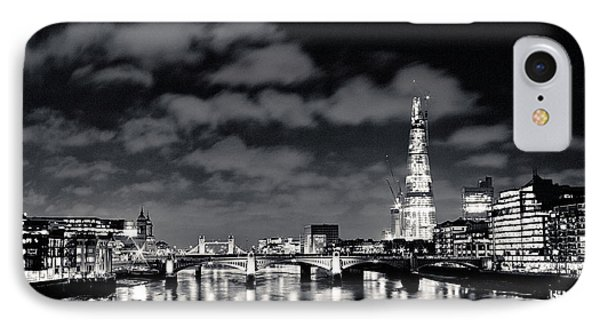 London Lights At Night IPhone Case by Lenny Carter