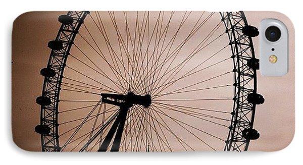 London iPhone 7 Case - #london #londoneye #bigben by Ozan Goren