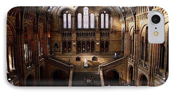 London iPhone 7 Case - #london #nationalhistory #darwin by Ozan Goren