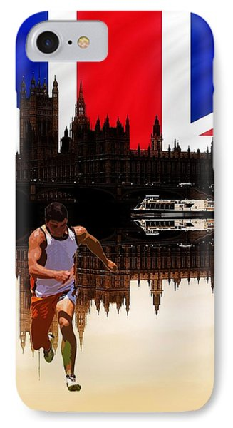 London Olympics Phone Case by Sharon Lisa Clarke
